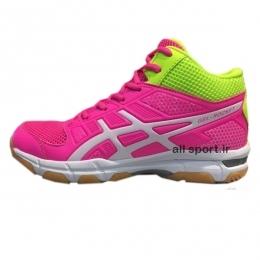 کفش والیبال زنانه Asics Gel Rocket Pink