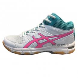 کفش والیبال زنانه Asics Gel Rocket White