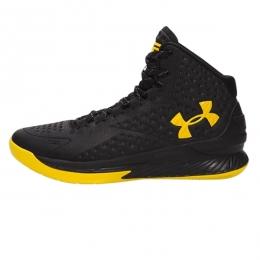 کفش بسکتبال آندر آرمور Under Armour Icon Curry 1 Customized Black Yellow