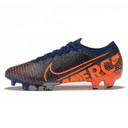 کفش فوتبال نایک مرکوریال طرح اصلی آبی نارنجی Nike Mercurial Vapor XIII Elite FG Blue Orange