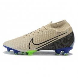 کفش فوتبال نایک مرکوریال طرح اصلی مشکی آبی Nike Mercurial Superfly VII Elite FG Black Blue