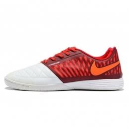 کفش فوتسال نایک لونار گتو طرح اصلی قرمز سفید Nike Lunar Gato II IC Red White