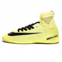 کفش فوتسال ساقدار نایک مرکوریال طرح اصلی فسفری Nike Mercurial 2019
