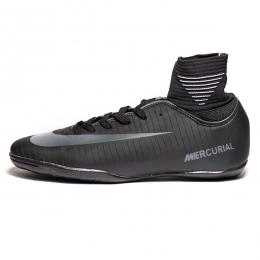 کفش فوتسال ساقدار نایک مرکوریال طرح اصلی مشکی Nike Mercurial 2019