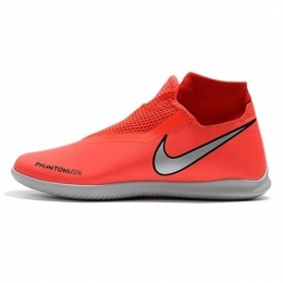 کفش فوتسال نایک ساقدار طرح اصلی قرمز نقره ای Nike Phantom Vision Academy DF IC Red Silver