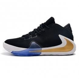 کفش بسکتبال نایک Nike Zoom Freak 1 Black Gold White