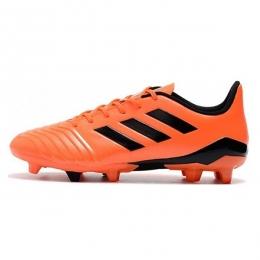 کفش فوتبال آدیداس پردیتور طرح اصلی نارنجی مشکی Adidas Predator 18.4 FG Orang Black