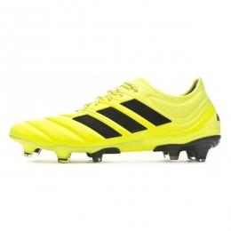 کفش فوتبال آدیداس کوپا طرح اصلی مشکی قرمز Adidas Copa 19.1 FG Yello Black
