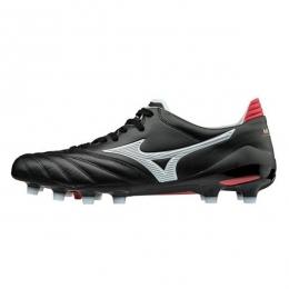 کفش فوتبال میزانو طرح اصلی مشکی سفید قرمز Mizuno Morelia Neo Black White Red