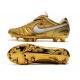 کفش فوتبال نایک تمپو طرح اصلی طلایی سفید Nike Tiempo Legend VII R10 Elite FG Gold White