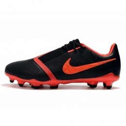 کفش فوتبال نایک فانتوم طرح اصلی مشکی قرمز Nike Phantom VNM Elite FG Black Red