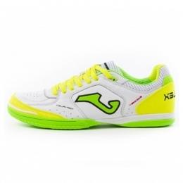 کفش فوتسال جوما Joma Top Flex 920 White-Fluor Indoor