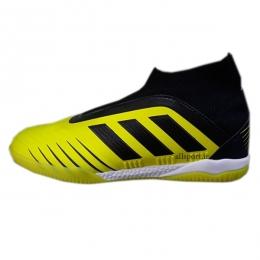 کفش فوتسال آدیداس ساقدار طرح اصلی مشکی زرد Adidas Predator Tango 19+ IN Black Yellow