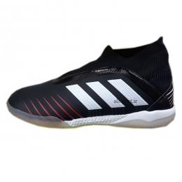 کفش فوتسال آدیداس ساقدار طرح اصلی مشکی سفید Adidas Predator Tango 19+ IN Black White