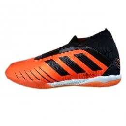 کفش فوتسال آدیداس طرح اصلی مشکی نارنجی Adidas Predator Tango 19+ IN Black Orange
