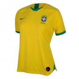 پیراهن زنانه اول برزیل Brazil 2019-20 Women Home Soccer Jersey