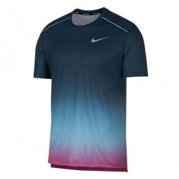 تیشرت مردانه نایک Nike Dri Fit Miler Blue AQ4930-496
