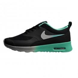 کتانی رانینگ نایک ایر مکس دیا پرینت Nike Air Max Thea Print Black Green