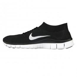 کتانی رانینگ زنانه نایک فری فلای نیت Nike Free Flyknit Black White