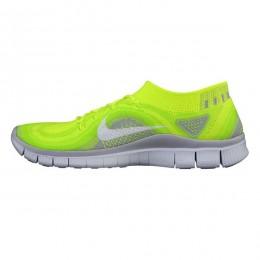 کتانی رانینگ زنانه نایک فری فلای نیت Nike Free Flyknit Green Yellow