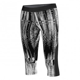 تایت زنانه آدیداس تکفیت 34 پرینت Adidas Techfit 34 Print Tight AA7211