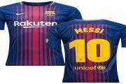 پیراهن خانگی مسی ۱۰ بارسلونا فصل جدید رونمایی شد