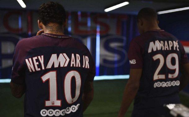 پیراهن ویژه نایک برای بازیکنان ستاره پاریسن ژرمن