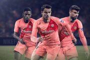 نایک و رونمایی پیراهن سوم بارسلونا