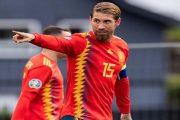 Sergio Ramos با کفش جدید نایک