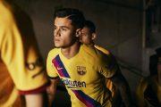 نایک و رونمایی پیراهن جدید بارسلونا