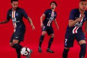 نایک و رونمایی پیراهن تیم پاریس سن ژرمن