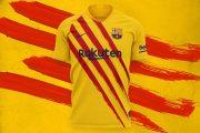 پیراهن چهارم ۱۹/۲۰ بارسلونا رونمایی شد